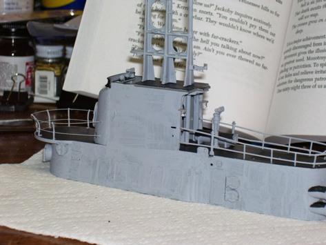 Building the Revell 1:72 Gato model on the J T  McDaniel